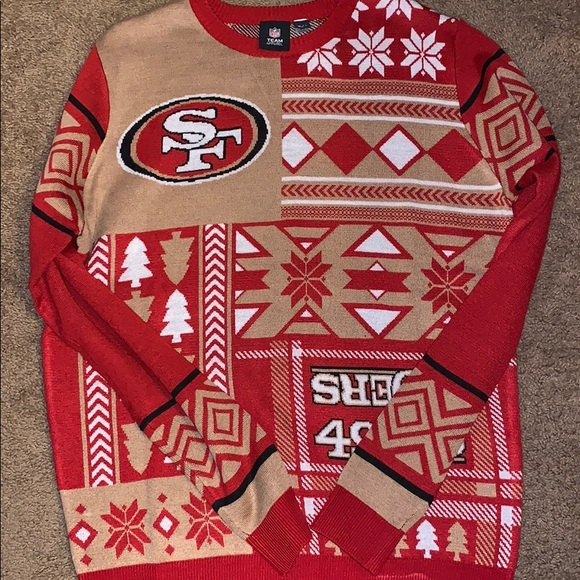 free shipping fd8b2 7184c NFL TEAM Apparel San Francisco 49ers Ugly Sweater